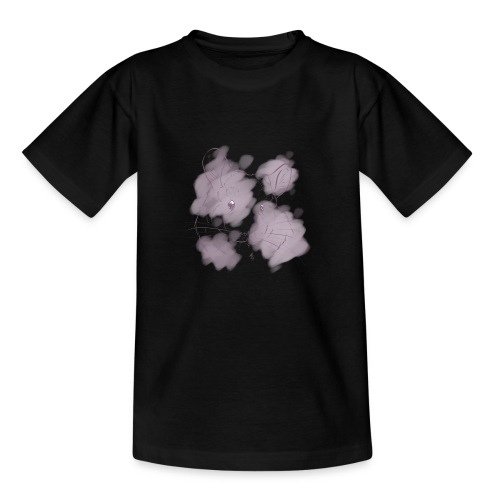 Violet splash chinchilla 2 - Lasten t-paita
