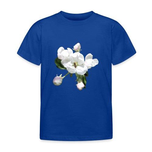 Omenankukka ja kukkakärpänen - Lasten t-paita