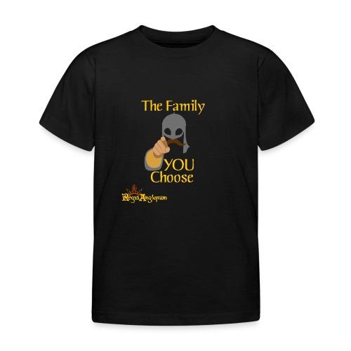 The Family You Choose - Kids' T-Shirt