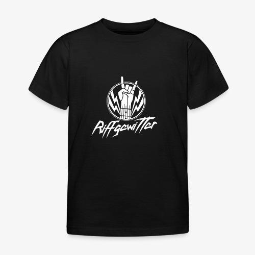 Riffgewitter - Hard Rock und Heavy Metal - Kinder T-Shirt
