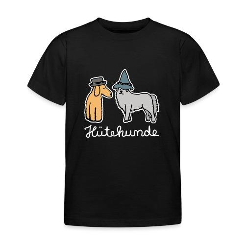 Hütehunde Hunde mit Hut Huetehund - Kinder T-Shirt