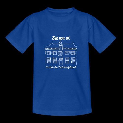 See you at Hotel de Tabaksplant WIT - Kinderen T-shirt