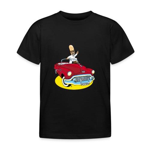 Herr Bohnemann im Buick - Kinder T-Shirt