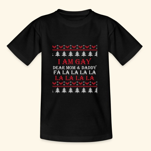 Gay Christmas sweater - Koszulka dziecięca