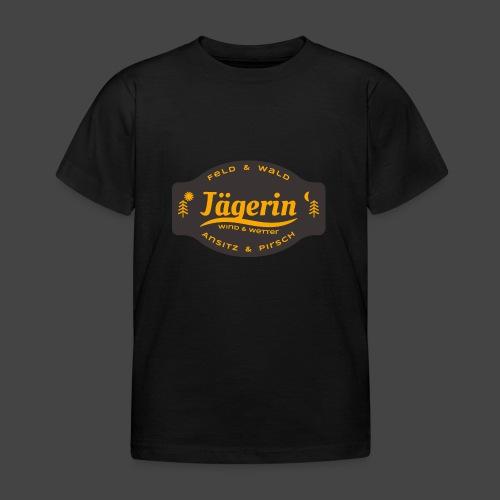 Das Jägerin-Shirt für aktive Jägerinnen - Kinder T-Shirt