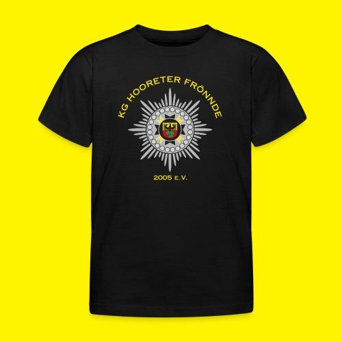 Gelbe Schrift - Kinder T-Shirt