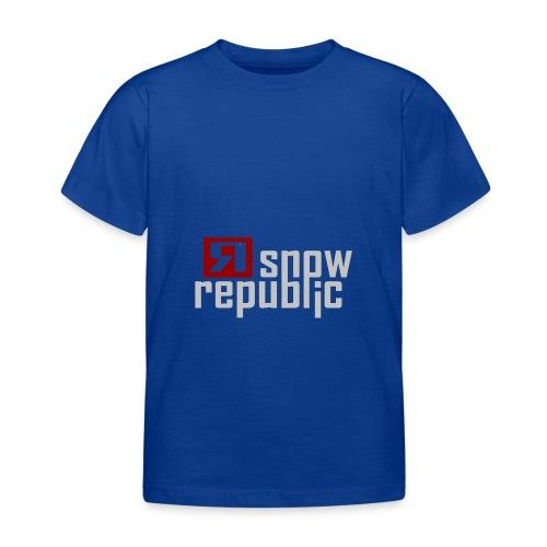 SNOWREPUBLIC 2020 - Kinderen T-shirt