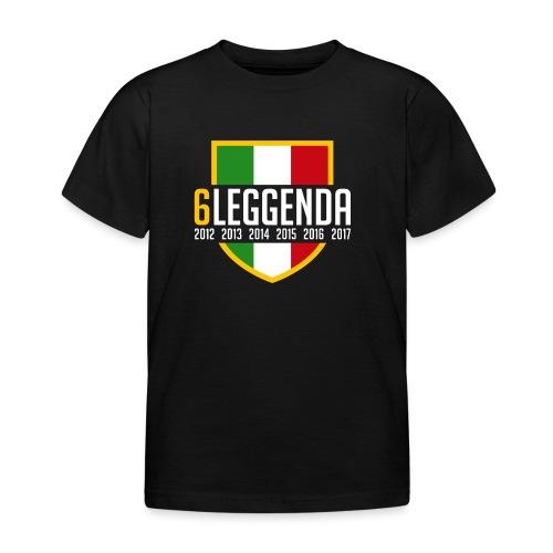 6LEGGENDA BLACK - Maglietta per bambini
