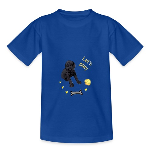 Giant Schnauzer puppy - Kids' T-Shirt