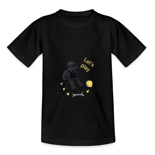Giant Schnauzer puppy - Kids' T-Shirt