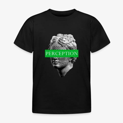 TETE GRECQ GREEN - PERCEPTION CLOTHING - T-shirt Enfant