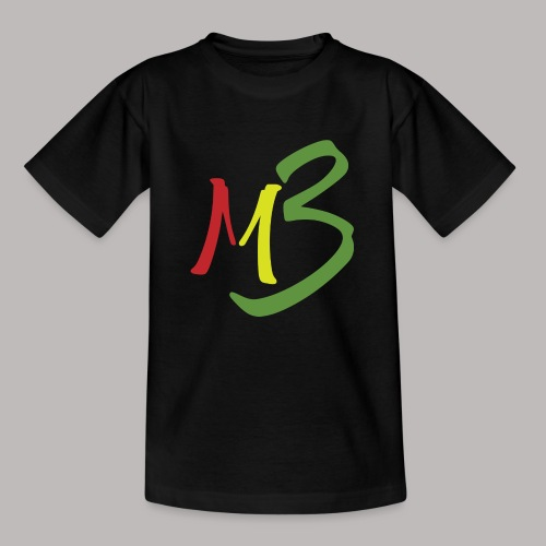 MB13 Logo rasta1 - Kids' T-Shirt