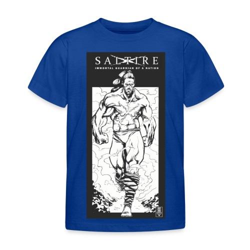 Saltire Scottish Superhero Logo - Kids' T-Shirt
