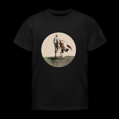 Kuh braun - Kinder T-Shirt