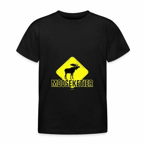 Moosketier - Kinderen T-shirt
