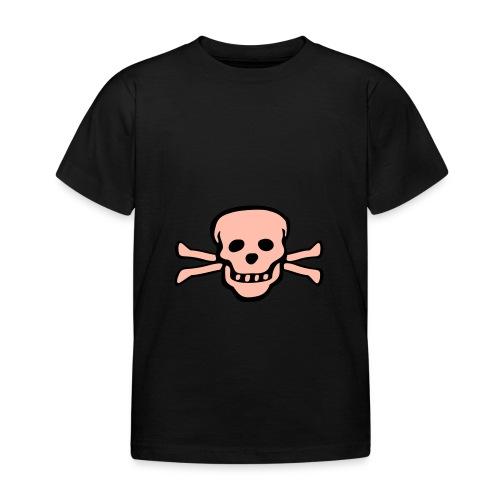 skull tattoo style - Kinder T-Shirt