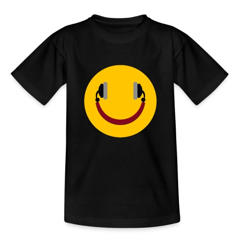 Smiling headphone - Børne-T-shirt