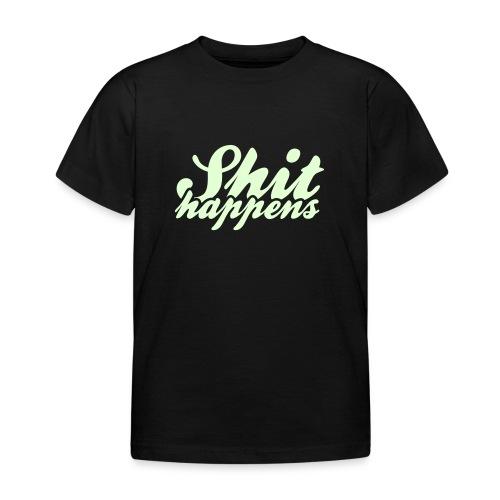 Shit Happens and Politics - Kids' T-Shirt