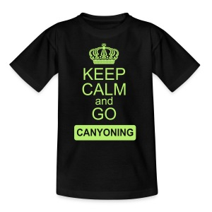 keep calm and go canyoning 2 - Kinder T-Shirt
