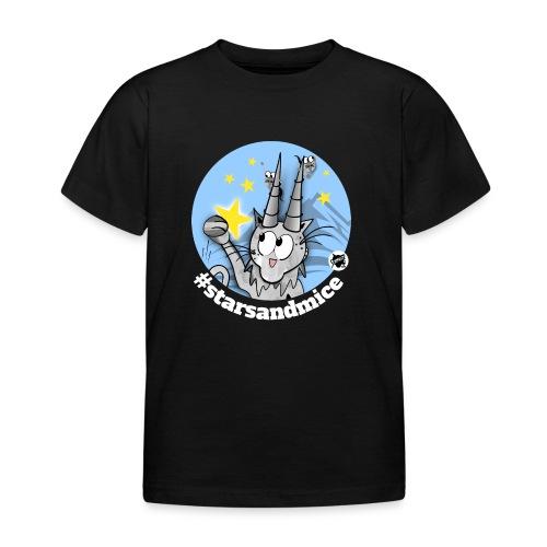 Astrokatze Steinbock - Kinder T-Shirt