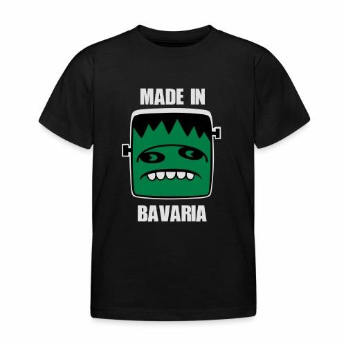 Fonster weiß made in Bavaria - Kinder T-Shirt