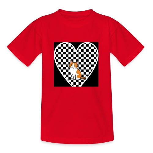 Charlie the Chess Cat - Kids' T-Shirt