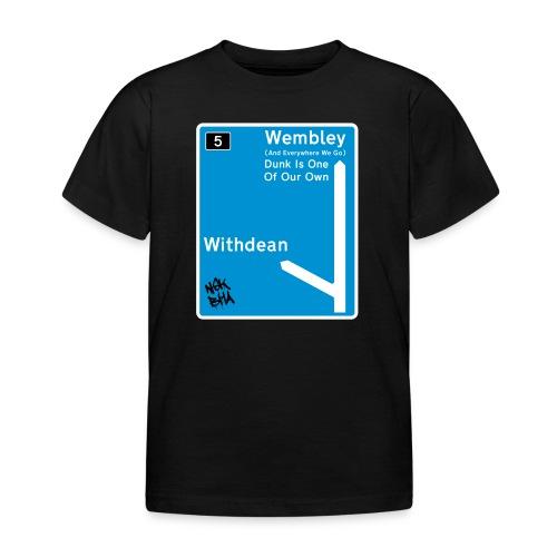 withdean-wembley-ai3 [Con - Kids' T-Shirt