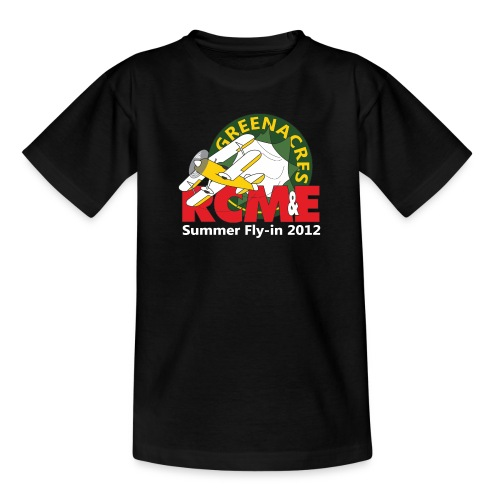 RCME Greenacres 2012 Fly In white txt - Kids' T-Shirt