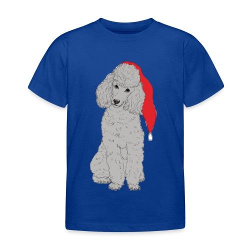 Poodle toy G - christmas - Børne-T-shirt