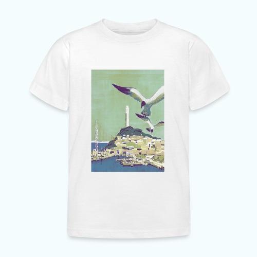 San Francisco Vintage Travel Poster - Kids' T-Shirt