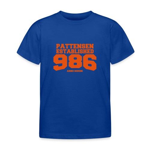 Pattensen 986 - Kinder T-Shirt
