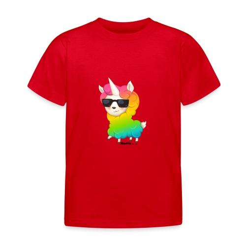 Regenboog animo - Kinderen T-shirt