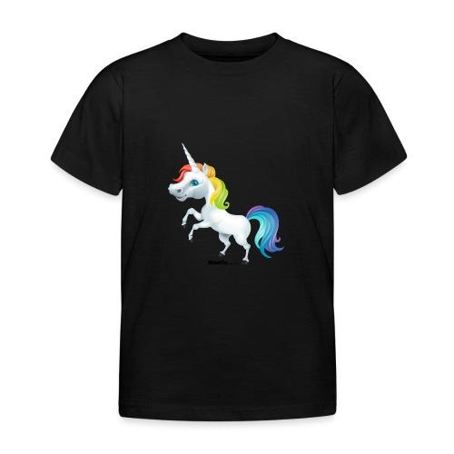 Rainbow enhjørning - T-skjorte for barn