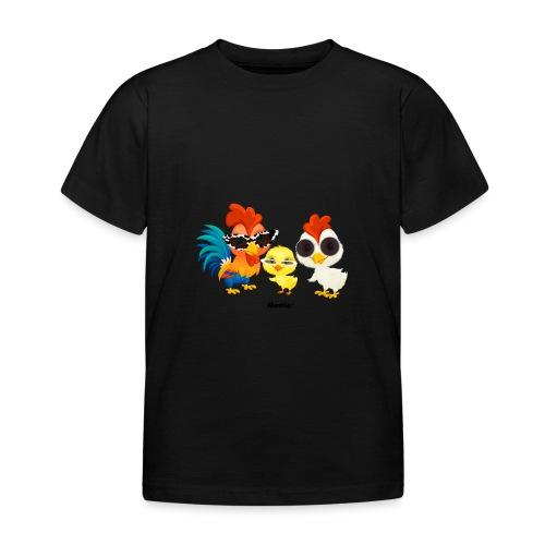 Huhn - von Momio Designer Emeraldo. - Kinder T-Shirt