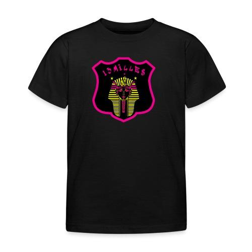 Pharaon Noir, Rose, Jaune hyper design - T-shirt Enfant