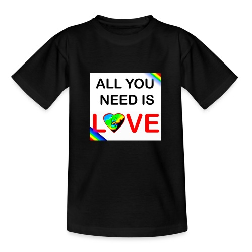all you need is peace and love - T-shirt Enfant