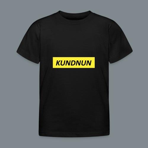 Kundnun official - Kinderen T-shirt