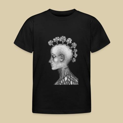 mujer brócoli - Camiseta niño
