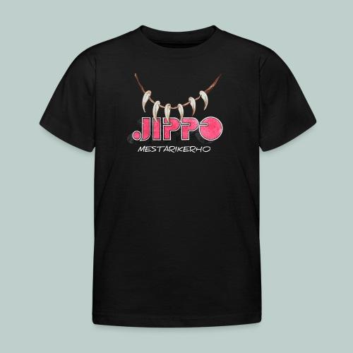 jippomestari_pink - Lasten t-paita