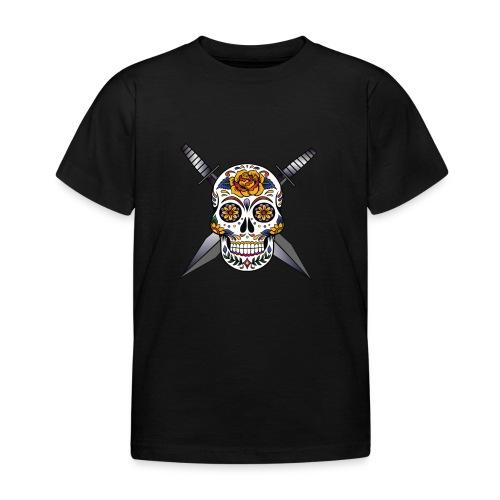 Cross skull swords - T-shirt Enfant