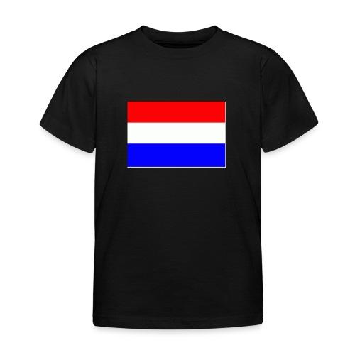 vlag nl - Kinderen T-shirt