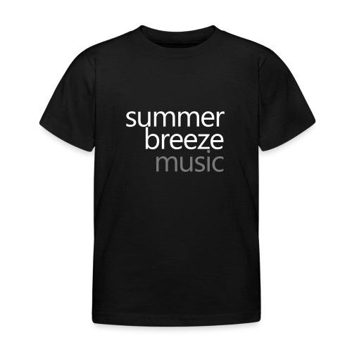 logo sbm 4c summerwhite - Kinder T-Shirt