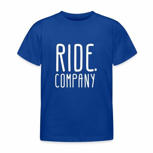 RIDE.company - just RIDE - Kinder T-Shirt