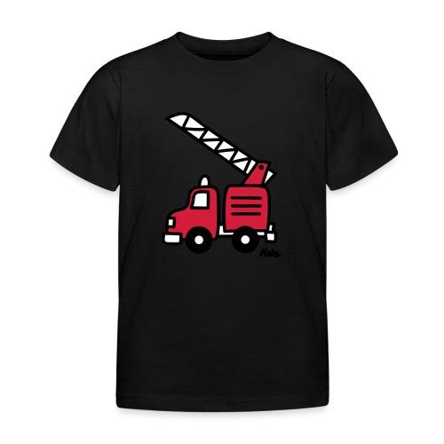 Feuerwehrauto (c) - Kinder T-Shirt