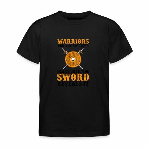 Warrior Feelings - Lasten t-paita