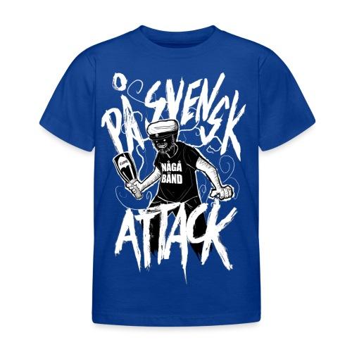 På Svenska Tack - Kids' T-Shirt
