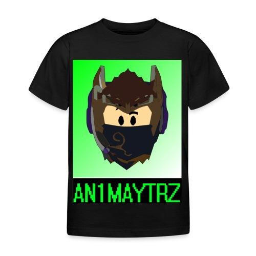 AN1MAYTRZ logo + title - Kids' T-Shirt