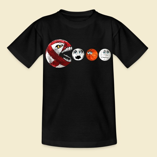 Radball | Cycle Ball RedMan - Kinder T-Shirt