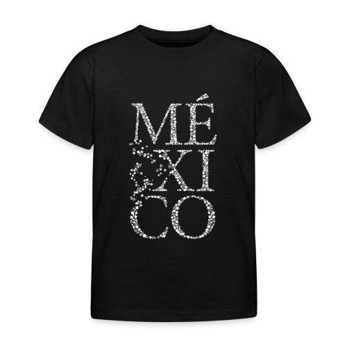 México (weiß) - Kinder T-Shirt