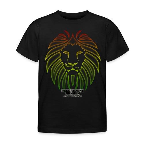 reggaezone lion TSHIRTONTWERP1 png - Kinderen T-shirt